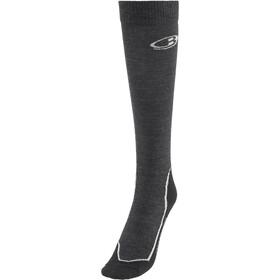 Icebreaker OTC Ultra Light Ski Full Socks Men Jet Heather/Black/Blizzard Heather